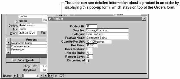 Using Pop-up Forms and Dialog Boxes